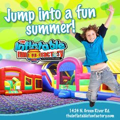 A trip to The Inflatable Fun Factory is the perfect solution to summer boredom!