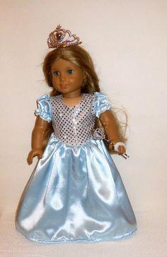 Blaue lange glänzend Prinzessin Kostüm von entirelyhomemade auf Etsy
