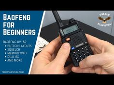 Interested in a Baofeng radio but don't know how to use it? Check out our Baofeng for Beginners video to figure it out. Ham Radio Kits, Emergency Radio, Emergency Kits, Ham Radio License, 72 Hour Kits, Online Training Courses, Radio Frequency, Disaster Preparedness, Tech Gadgets