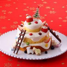 nutella mug cake Christmas Cookie Icing, Christmas Sweets, Christmas Cooking, Mountain Cake, Snow Mountain, Kid Desserts, Delicious Desserts, Nutella Mug Cake, Xmas Food