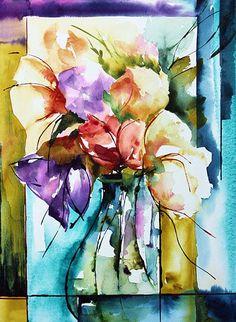 Véronique Piaser-Moyen (©2013 piasermoyen.com) Aquarelle originale sur papier 300G