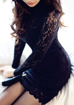 I love it! Black Lace Dress