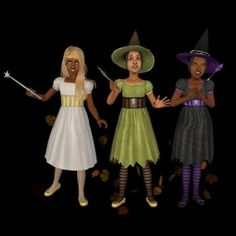 TBTO -- Skell's gift for Yandereplum Supernatural Witch, Kids Witch Costume, Trade Off, Witch Outfit, Sims 1, 4 Kids, The Twenties, Witches, Challenges