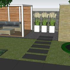 Garden Privacy, Rooftop Patio, Garden Edging, Garden Spaces, Small Gardens, Garden Bridge, Garden Inspiration, Backyard Landscaping, Interior And Exterior