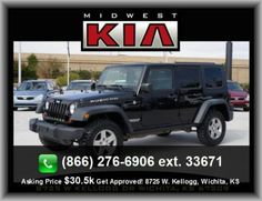 2010 Jeep Wrangler Unlimited Rubicon SUV   460 Lbs., Cloth Seat Upholstery, External Temperature Display, Two 12V Dc Power Outlets, Silver Aluminum Rims, Sirius Am/Fm/Satellite Radio, Diameter Of Tires: 17.0, Coil Rear Spring, Cruise Controls On Steering Wheel,