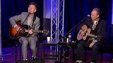 Lyle Lovett & John Hiatt perform 'The Road to Ensenada'
