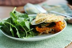 Butternut Squash and Garlicky Kale Lasagna with Brazil Nut Cheese. #glutenfree #vegetarian #vegan