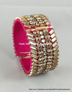Price + shipping charges For Orders, plz comments We Ship to All Countries Silk Thread Bangles Design, Silk Thread Necklace, Silk Bangles, Bridal Bangles, Thread Jewellery, Jewellery Storage, Bead Embroidery Jewelry, Beaded Jewelry, Rakhi Online