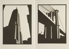 """""""These are beautifully sharp and simple"""" Paul Catherall Lino Prints Lino Art, 8th Grade Art, Engraving Printing, Composition Art, Etching Prints, City Illustration, A Level Art, Linocut Prints, Art Sketchbook"""