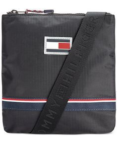 c51084ec89e92 Tommy Hilfiger Ripstop Nylon Crossbody Bag - Accessories & Wallets -  Men - Macy's Tommy