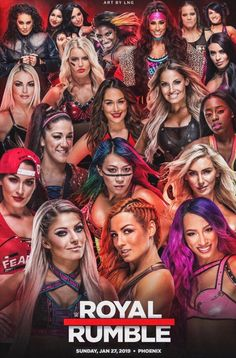 Royal Rumble in the house Wwe Nxt Divas, Wwe Total Divas, Wrestling Superstars, Wrestling Divas, Women's Wrestling, Wwe Party, Carmella Wwe, Becky Wwe, Wwe Royal Rumble
