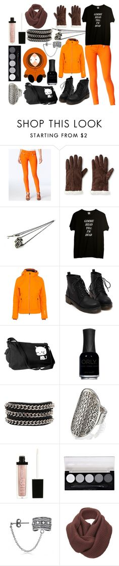 """""""Kenny McCormick"""" by ashlynknight ❤ liked on Polyvore featuring Michael Kors, Isotoner, momocreatura, ORLY, KENNY, Butter London, L.A. Colors, Bling Jewelry, SELECTED and women's clothing"""
