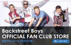Backstreet Boys Official Fanclub バックストリート・ボーイズ 公式ファンクラブ