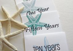 beach themed wedding guest bags | Wedding Guest Book Alternative--Starfish Beach Themed Wedding ...