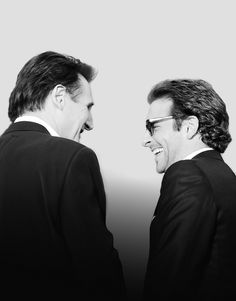 liam neeson & bradley cooper. two of the hottest men in one picture. #.