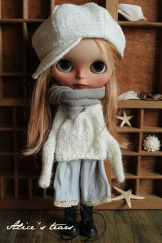 VOYAGES-5pcs. Robe en laine écharpe décontractée par alicestears