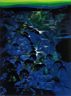 Image detail for -an emerald sky by eyvind earle reduced image zoom image