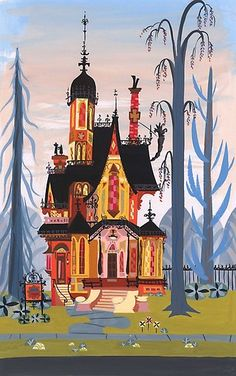 Foster's Home for Imaginary Friends / A Mansão Foster para Amigos Imaginários, Cartoon Network, Art And Illustration, Cartoon Illustrations, Mansion Foster, Foster House, Foster Home For Imaginary Friends, Bg Design, Design Color, Mary Blair