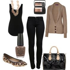 casual & comfortable, created by doux-afrique on Polyvore