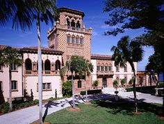 """Ca'd'Zan Mansion ~ Ringlings dazzling """"last of the Gilded Age"""" Mansions, Sarasota, Florida"""