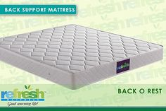 Buy luxury memory foam mattresses, pillow top sleep mattresses and best spring mattress in India. Get top rated mattresses price from Refresh Mattress. Refresh Mattress, Best Mattress, Top Rated Mattresses, Led Manufacturers, Mattress Springs, Low Back Pain, Good Night Sleep, Memory Foam, Luxury