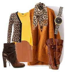 Autumn mix by baggheera on Polyvore featuring mode, Jaeger, Vince Camuto, H&M and BP.