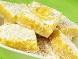 dessert, lemon, lemon squares