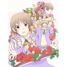 Cute hetalia ouran high school host club. Aph.