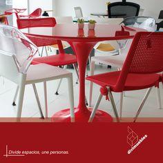Dale un toque diferente a tus espacios y crea ambientes modernos. Dining Chairs, Furniture, Home Decor, Environment, Spaces, Mesas, Trendy Tree, Colors, Projects