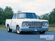 Mopp 0004 01 Z+1977 Dodge Custom 150 Street Truck+front View