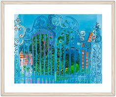 """""""La reja"""" de Raoul Dufy disponible en el servicio de Impresión a la carta Raoul Dufy, Museum Shop, Painting & Drawing, 3, Drawings, Artwork, Inspiration, Art Museum, Impressionism"""