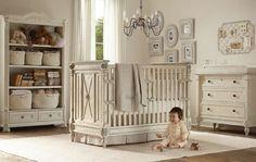 Nice, clean and classy nursery room
