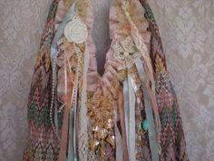shabby chic bohemian | Shabby Chic Upcycled Hobo Gypsy Tote Bohemian Bag by Pursuation, $68 ...