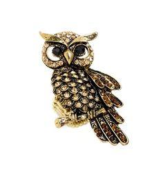 Cute little owl pin