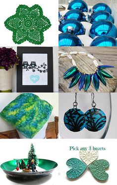 blue christmas by Beth Byrd on Etsy--Pinned with TreasuryPin.com