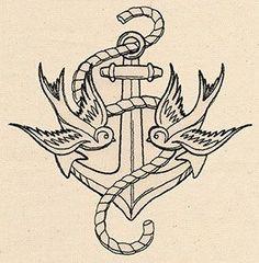 plantillas-de -anclas- para- tatuar