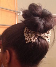 Bows and Buns - lovely.