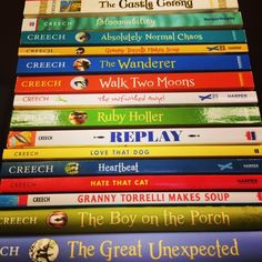 Looking for author suggestions for your 9 to 13 year old child? Here are A Few of My Favorite Children's Authors — Pen & Ink Learning Sharon Creech, 4th Grade Reading, Text Features, 13 Year Olds, In A Heartbeat, Dog Love, Nonfiction, Books To Read, Novels