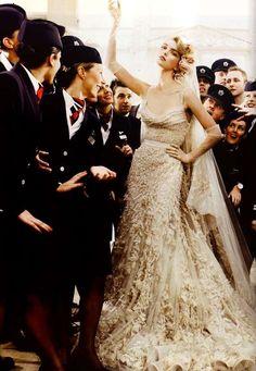 Vogue UK Wedding Belles.