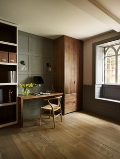 Bespoke - Study and Library Furniture by Teddy Edwards #handcrafted #bespoke #study #office #british