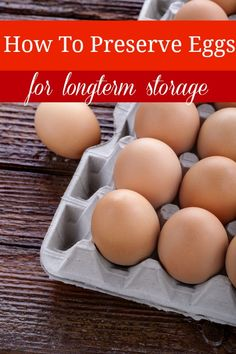 Did you know that you can preserve eggs to be stored for months with NO refrigeration? My grandmother would tell me stories that they stored eggs covered in salt under the bed. Canning Recipes, Egg Recipes, Light Recipes, Egg Dish, Preserving Food, Baking Tips, Food Hacks, Cooking Hacks, Cooking Videos