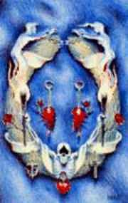 Peter Pontiac - Colliers - Dood (Death) - Griffioen Grafiek