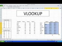 Microsoft Excel VLOOKUP Tutorial for Beginners - Office Excel 2003, 2007, 2010 - YouTube