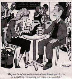 New Yorker cartoon Haefeli sweatshop-free
