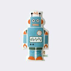 Kissen - Kinder - Ökologisch - Roboter - Dänish Design - Große Auswahl