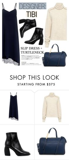 """""""Designer: TIBI"""" by ifchic ❤ liked on Polyvore featuring TIBI and Karen Walker"""