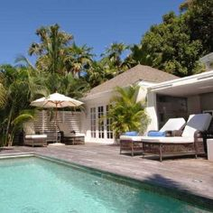 Hotel St Barth Isle de France: One of the villas in the garden
