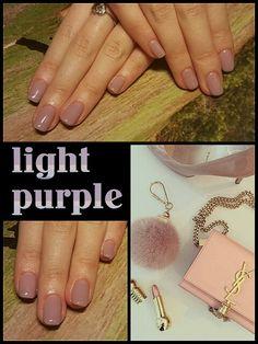 #light #purple #fresh #fashion #nailtutorial #didierlab #no36
