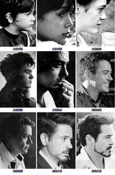Robert Downey Jr.: Side profile through the years