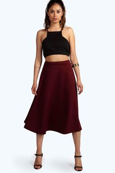 Click here to find out about the Arianna Plain Full Circle Midi Skirt from Boohoo, part of our latest Skirts collection ready to shop online today!